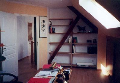 Nos réalisations bureau sous toitcousin bois