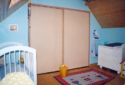 nos r alisations chambre mansard e dressing sous pentecousin bois. Black Bedroom Furniture Sets. Home Design Ideas