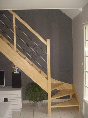 nos r alisations escaliers cousin bois. Black Bedroom Furniture Sets. Home Design Ideas