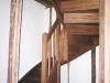 Escalier pièce mansardée bois
