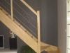 Escalier en bois combles aménagés