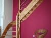 Escalier pour grenier agencé