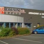 Bâtiment de l'entreprise Cousin Bois